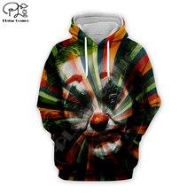Men women New haha joker 2019 3D Hoodie painting Print Funny Joaquin Phoenix Sweatshirt Harajuku zipper pullover colorful tshirt