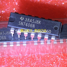 10 шт./лот SN7406N DIP-16
