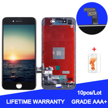 10pcs/Lot for LCD screen glass of AAA iPhone 55S 5C SE 66P 6S 6SP 7P 8P LCD digitizer, Pantala module with touch screen goowiiz кванхон iphone 55s