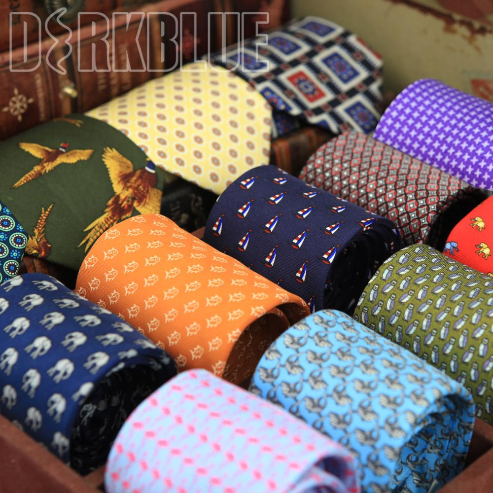 Skinny Tie Pattern Printed Checked Multicolor Mens Ties Slim Neckties Fashion New Arrival Suit Gift For Men Free Shipping
