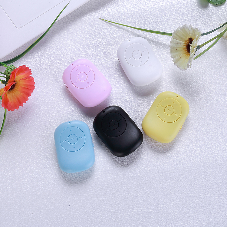MP3 Music Player Portable Rechargeable FM MP3 Player Support 4 GB 8GB 32GB  Micro TF Card 5 Color Optional