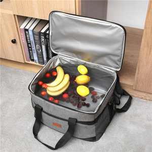 Image 5 - A tenuta Rosso Blu 33L Isolato sacchetto del Pranzo di Raffreddamento per Picnic esterna del sacchetto Termico Auto utilizzando Bolsa termica loncheras para mujer