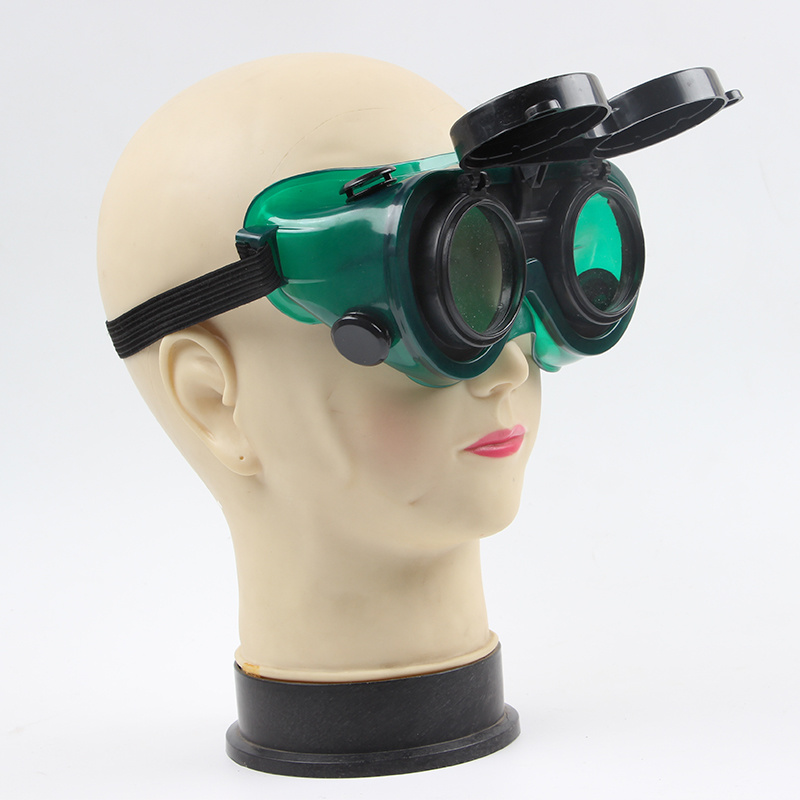 Flip Up Glasses Lenses Welding Goggles Cutting Grinding Soldering Helmets Masks Filters Safety Welder Working Protective Eyewear