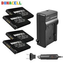 цена на Bonacell NB-11L Battery + Charger for Canon PowerShot ELPH 110 HS A2300 A2500 A3500 IS A2300 140 IS 150 IS 34 Digital Camera