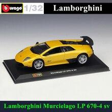 Bburago 1:32 Lamborghini Huracan LP670 sv simulation alloy car model plexiglass dustproof display base package Collecting gifts цена