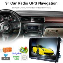 9 Inch Auto Radio GPS Navigatie Docking Station 2din Android Smartphone Bluetooth GPS Navigatie Car Holder Ondersteuning Voor VW(China)