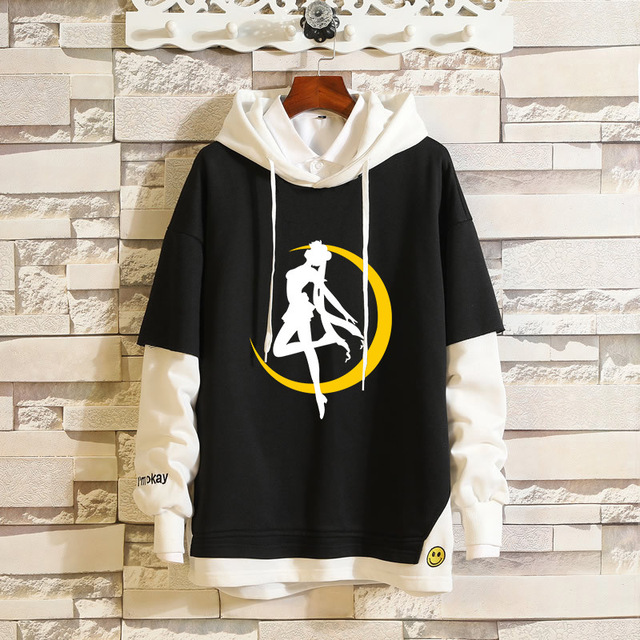 SAILOR MOON THEMED PULLOVER HOODIE (6 VARIAN)