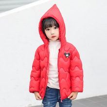 Autumn Winter Baby Parkas Warm Thick Kids Long Sleeve Outwear Casual Uninex Solid Toddler Clothing Tops For Children Costume 3 10years toddler girls winter jacket long parkas korean style children outwear autumn thick coat kids girl jackets solid d210