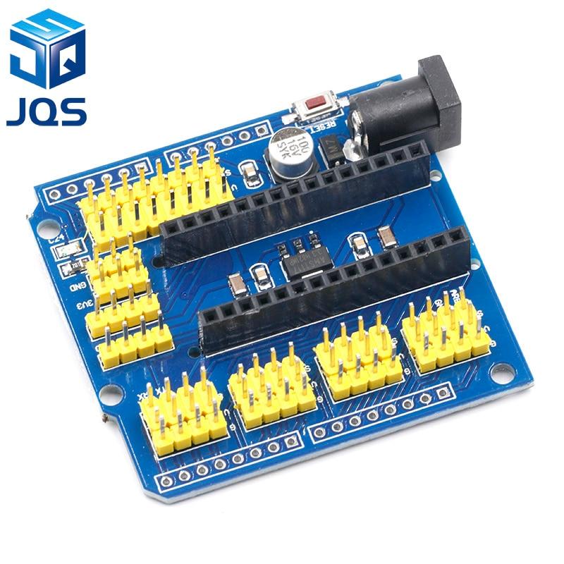 NANO I/O IO Expansion Sensor Shield Module For Arduino UNO R3 Nano V3.0 3.0 Controller Compatible Board I2C PWM Interface 3.3V
