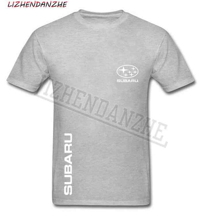 Logo de T-shirt des hommes de Subaru, t-shirt de voiture de coton de haute qualité, T-shirt à manches courtes de vêtements d'auto des hommes t-shirt de mode AAA + 53