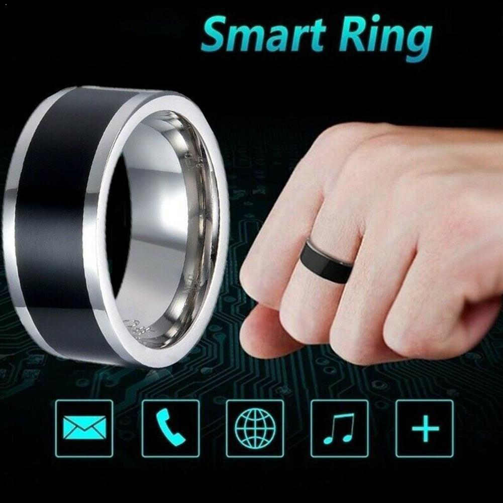 NFC Smart ID Card Waterproof Multifunction Smart Magic Windows Ring For Android Finger NFC Mobil Digital Use Ring C0T0
