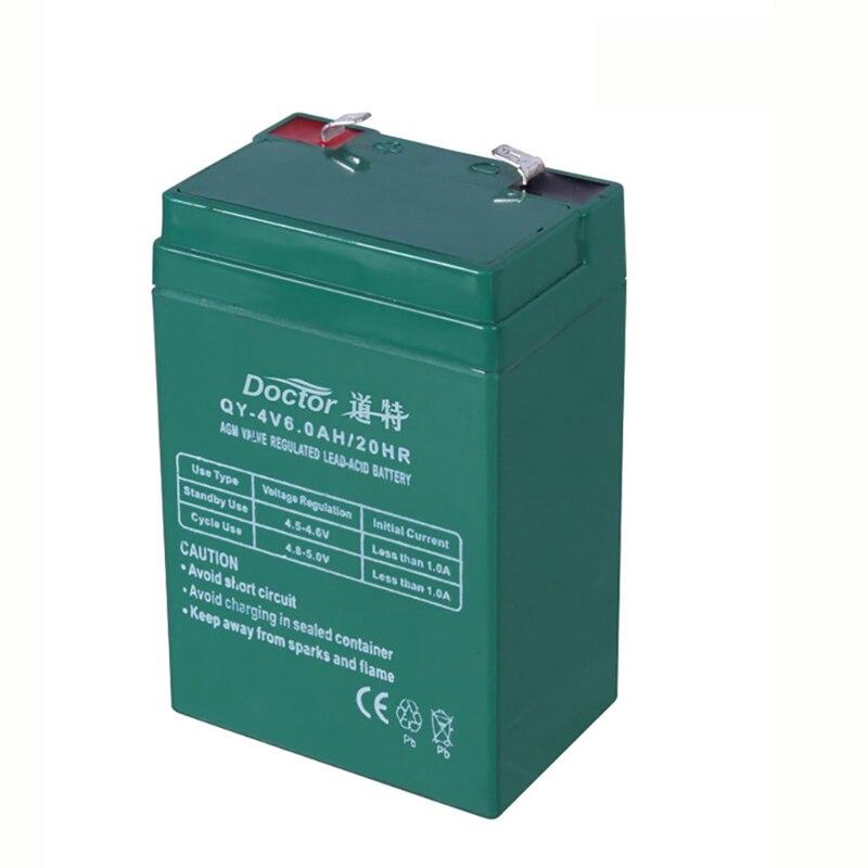 Lead Acid Battery >> Us 14 98 10 Off 4v 6ah Lead Acid Battery 4v6ah Tenaga Cadangan Untuk Led Light Emergency Anak Anak Mobil Mainan Elektronik Skala Accumulator