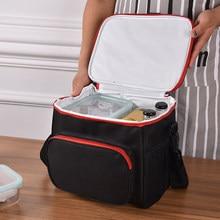 Izolacja termiczna torby termoizolacyjne duże kobiety mężczyźni piknik pojemnik na Lunch Bento Trips BBQ posiłek Ice Zip Pack akcesoria materiały eksploatacyjne
