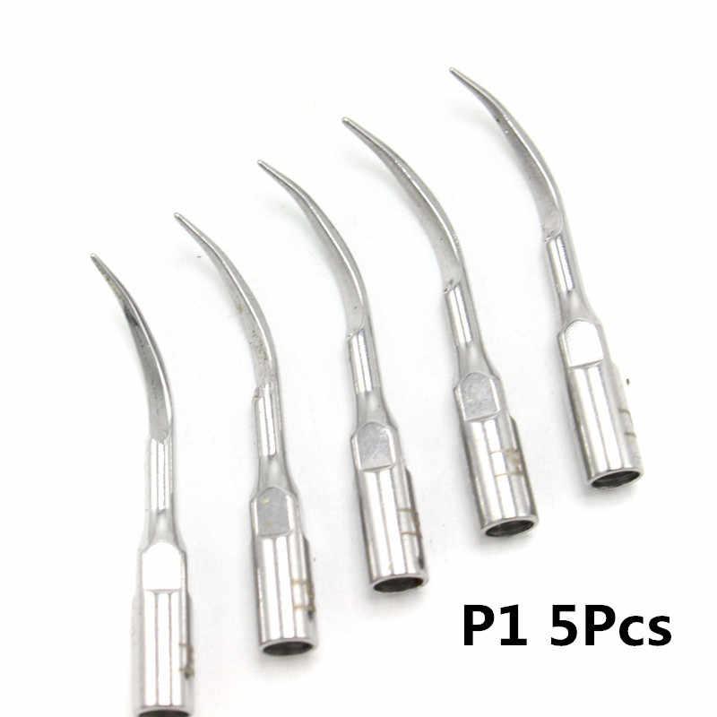 1pcs G1,G2,P1,G3, p4 ทันตกรรม Scaler เคล็ดลับ Fit EMS Woodpecker Ultrasonic Scaler Handpiece ทันตกรรม Ultrasonic Scaler Scaling Tip