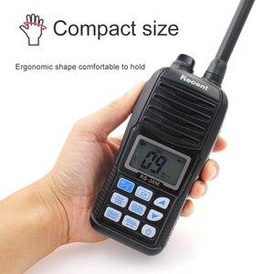 Image 3 - Водонепроницаемый телефон, новая версия, 156,000 161,450 МГц, IP67, водонепроницаемая портативная рация 5 Вт