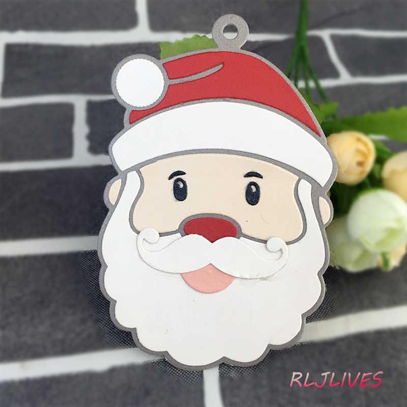 Origami Santa | Simple paper Santa | Santa face | xmas paper craft ... | 800x800