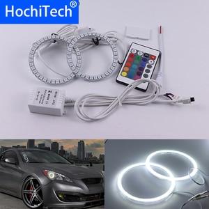 Para Hyundai Genesis Coupe 2010 2011 2012 2013 2014 Multi-cor Kit Led Angel Eyes Anéis de Halo RGB Daytime luz DRL