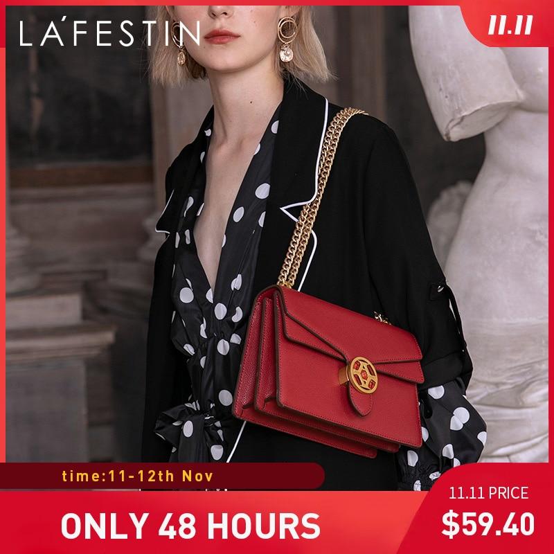 LAFESTIN brand women bag 2019 new fshion shoulder bag quality Crossbody bags for