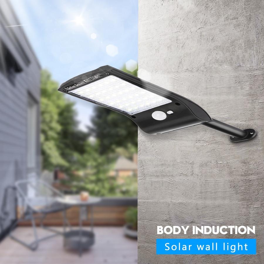 Solar Lights Outdoor 36 LED Super Bright Solar Lamp 280LM Motion Sensor Security Lights Wireless Waterproof Flexible Wall Lights