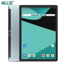 Globalna wersja Android 9 tablet 10 cali 32GB pamięci ROM 1280x800 2.5D szkło IPS 5MP podwójne aparaty Youtube Media Pad WIFI GPS