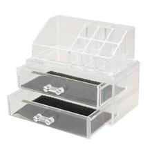 Acrylic Cosmetic Organizer Drawer Makeup Case Storage Insert Holder Box