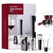 Air Pump Wine Bottle Opener Air Pressure Vacuum Red Wine Corkscrew Pin Type Cork Out Tool Wine Stopper Beer Lid Opener