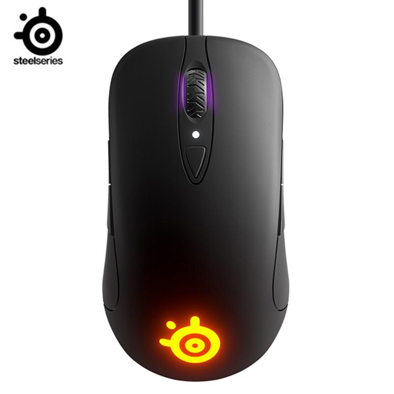 SteelSeries Sensei Ten Gaming Mouse 18,000 CPI TrueMove Pro Optical Sensor  8  Buttons  Mechanical Switches  RGB Lighting