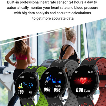 Smart watch men blood pressure ala