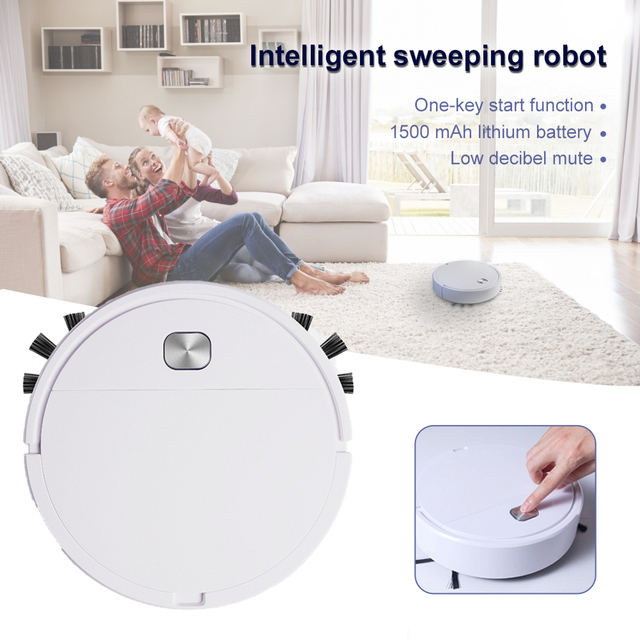 2021 Upgrade Smart Robot Vacuum Cleaner 1800Pa App Remote Control Vacuum Cleaner Home Multifunctional Wireless Sweeping Robot 1