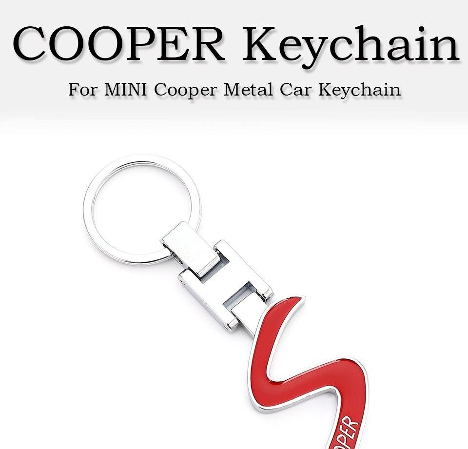 MINI COOPER Emblem Keychain Keyring Logo Symbol Sign Badge Metal Alloy Keychain