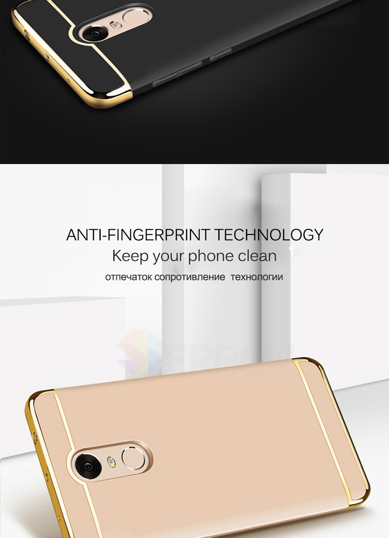 Luxury Hard Case For Xiaomi Redmi Note 4 4X 5A with Full Coverage 11