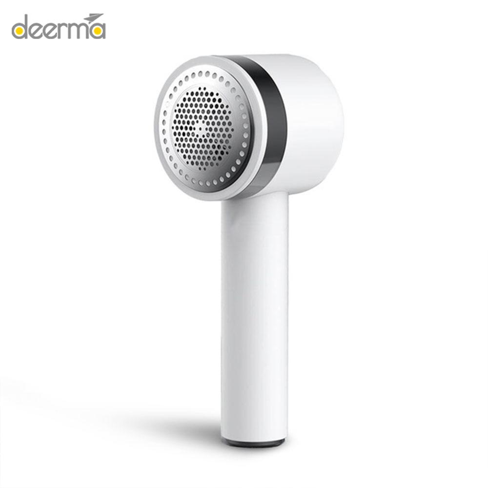 New Deerma Portable Lint Remover Hair Ball Trimmer Sweater Remover 7000r min Motor Trimmer Concealed sticky Hair Tube