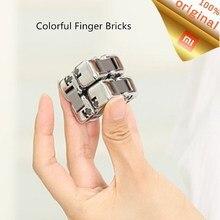 شاومي Mijia الملونة الإصبع بنة الضغط قطعة أثرية المحمولة بنة صندوق أعمى الذكاء الاطفال اللعب