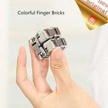 Xiaomi Mijia Bunte Fingertip Gebäude Block Dekompression Artefakt Tragbare Gebäude Block Blinden Box Intelligenz kinder Spielzeug