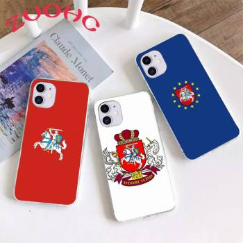 Lithuania Latvia Flag Phone Case Coque Fundas For Iphone 11 12 PRO MAX X XS XR 5S 6S 7 8 PLUS SE 2020 image