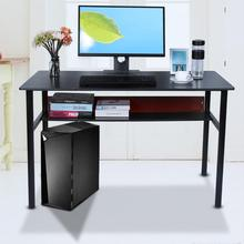 Computer-Desk-Desktop Black Writing-Desk Study Home Office Simple Modern PC for High-Quality