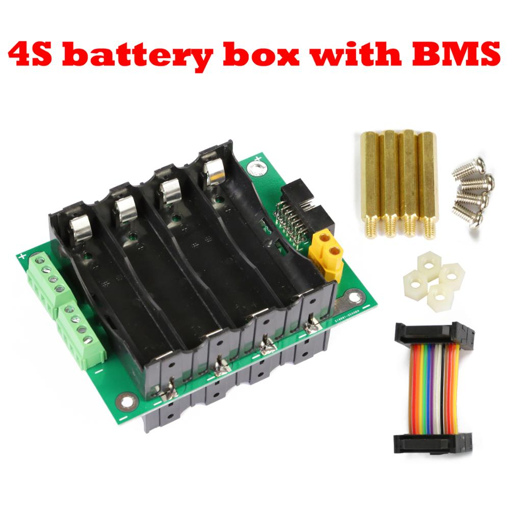 16V 18650 Power Wall 4s Battery Pack 4S Battery Module 4S Bms Li-ion Lithium 18650 Battery Box BMS PCB Board 40a 120a DIY