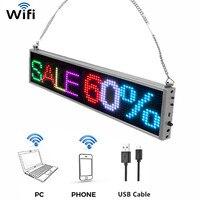 Mejor https://ae01.alicdn.com/kf/H6891266ab0d74ba2a200c659a4950e47K/Tablero de visualización de mensajes LED P5 RGB 7 colores teléfono móvil Wifi desplazamiento programable publicidad.jpg
