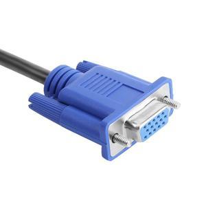 Image 3 - Vga Splitter Kabel 1 Computer Naar Dual 2 Monitor Adapter Y Splitter Man vrouw Vga Wire Cord Voor Pc laptop Vga Splitter Kabel