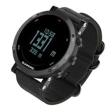 Sunroad men's sport digital barometer altimeter compass pedometer waterproof