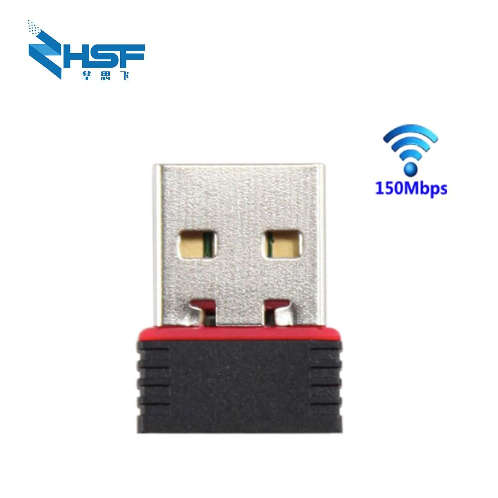 Wireless Mini Usb Wifi Adapter 150Mbps Wireless Network Card Wifi Adapter Ethernet Usb Wi-fi Adapter Support Desktop Laptop