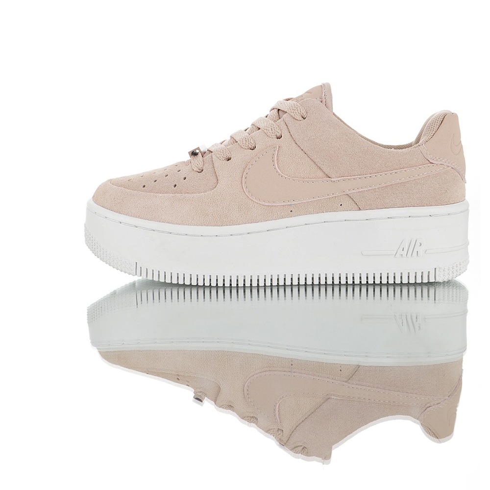US $66.0 45% OFF|Original Authentic Nike WMNS Air Force 1 Sage Low Women's Skateboarding Shoes Non slip Comfortable Sport Outdoor Sneakers AR5339 in