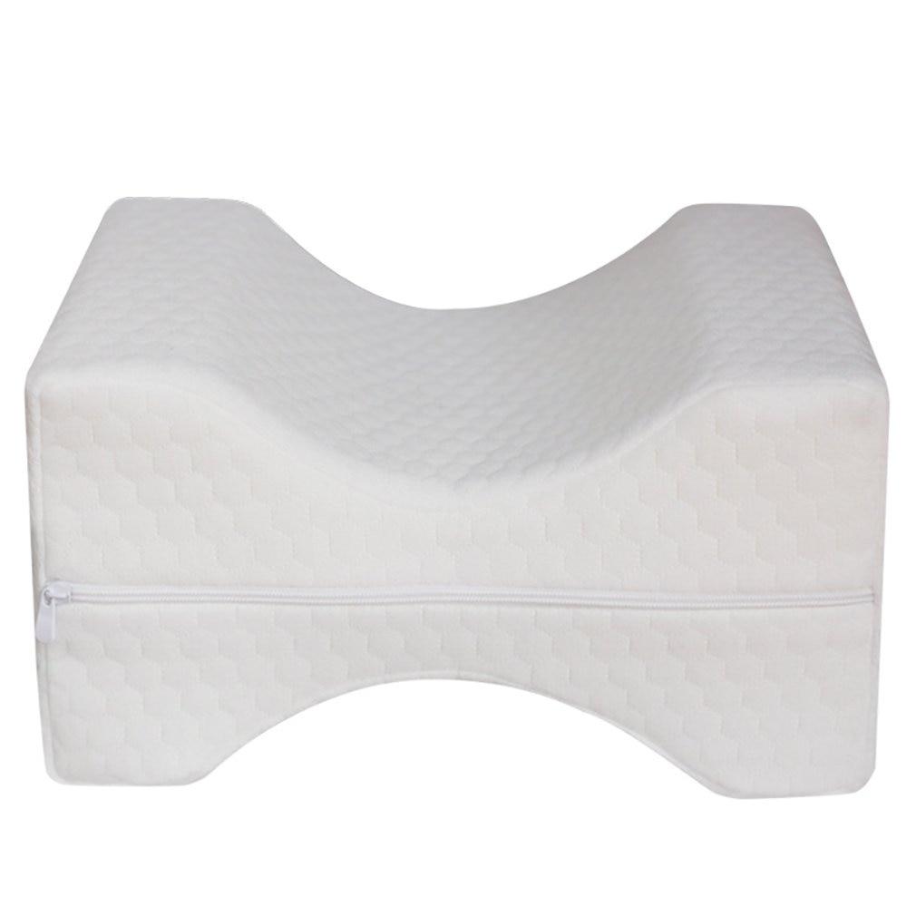Comfortable Memory Foam Mat Pillow Sleeping Bolster Under Knee Pillow Orthopedic Posture Supporter Leg Cushion Massage Relax