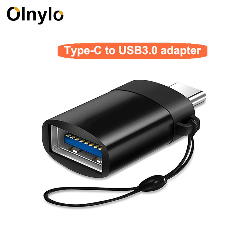 Olnylo OTG Type-C USB C Adapter Micro Type C USB-C USB 3.0 Charge Data Converter For Huawei P30 Pro Samsung S10 S9 Oneplus 7 Pro
