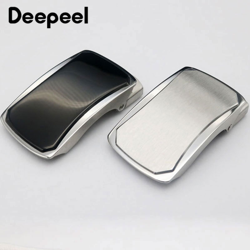 Deepeel 1pc ID36/39mm Fashion Stainless Steel Belt Buckles Automatic Buckle Head  DIY Leather Craft Decoration Hardware YK064