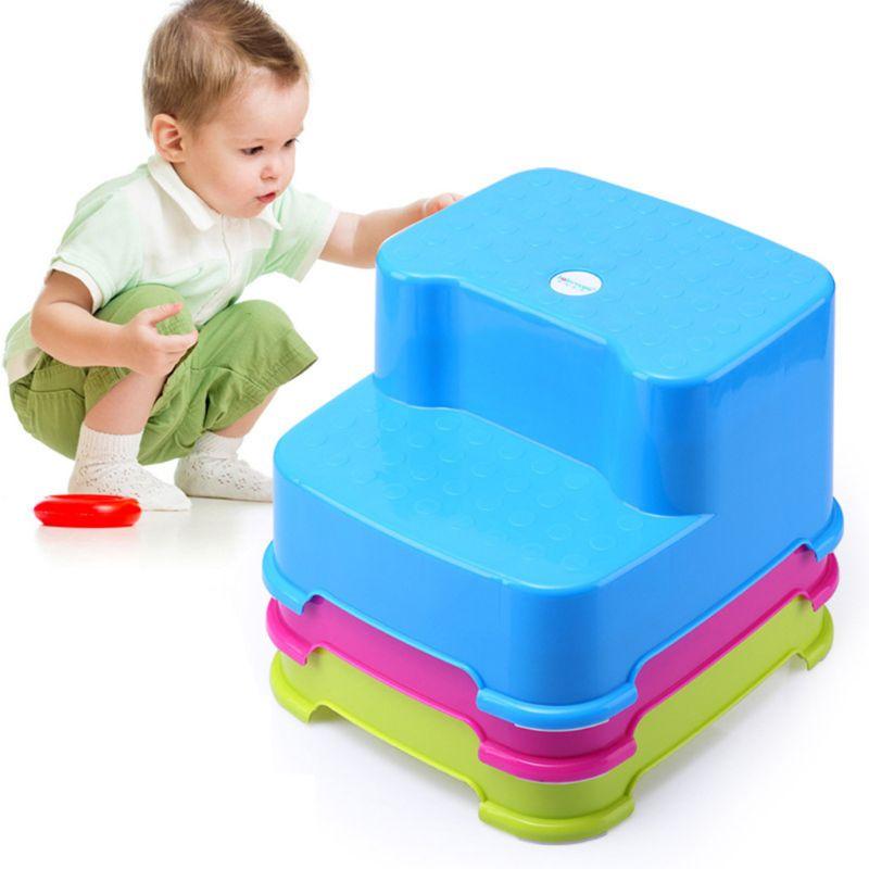 Детская многофункциональная Пуфик для малышей двухслойные Non-slip табурет