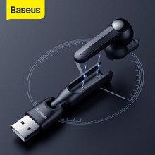 Baseus Magnetic Charging Drahtlose Bluetooth Kopfhörer Einzigen Freisprecheinrichtung mit Mikrofon Business Bluetooth Headset für Auto Fahren