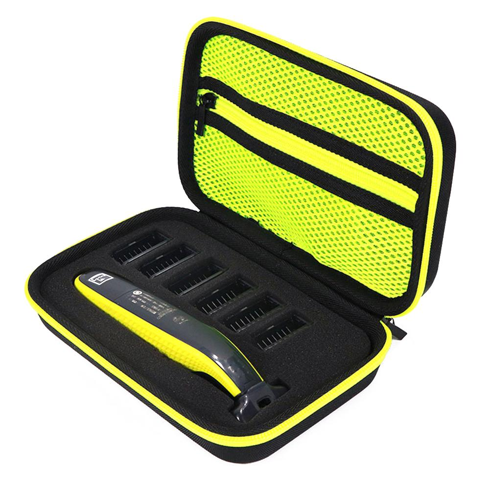 Portable Carry Case Storage Bag Anti Shock Travel Bag Organizers For Philips One Blade QP2530/2520 Shaver Accessories