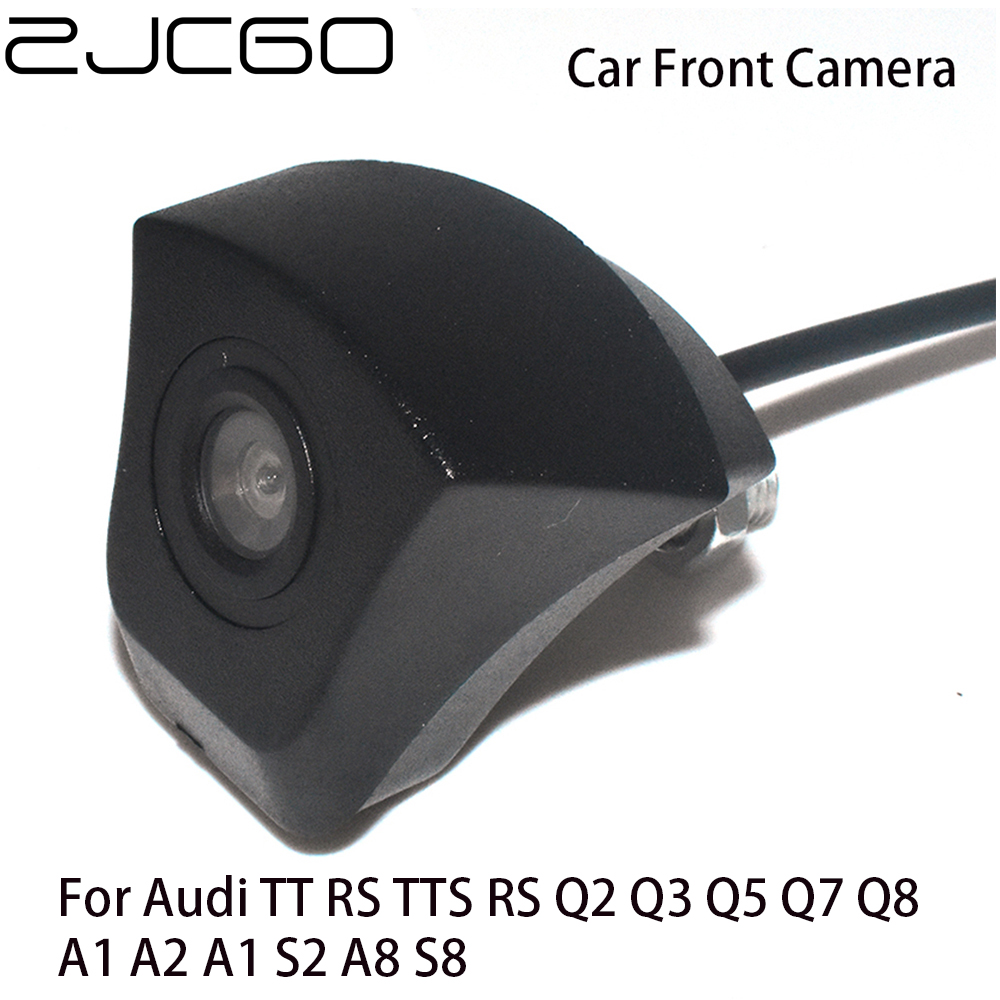 Car Front View Parking LOGO <font><b>Camera</b></font> Night Vision Positive Waterproof Universal for <font><b>Audi</b></font> TT RS TTS Q2 <font><b>Q3</b></font> Q5 Q7 Q8 A1 A2 A1 S2 A8 image