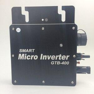 Сетка микро инвертор 400 Вт с коммуникацией WIFI мониторинг 120 в 230 В DC/AC Смарт Микро MPPT солнечный преобразователь 22-50 в водонепроницаемый